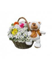 Букет с хризантемой №Х0013